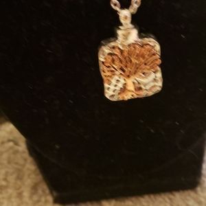 Jewelry - NWOT  BRONZE AND SIVER TREE OF LIFE